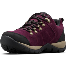Columbia Fire Venture S II WP Schoenen Dames, black cherry/wet sand